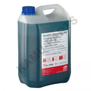 Febi Kühlerfrostschutzmittel G11 Blau (Konzentrat) 5 Liter