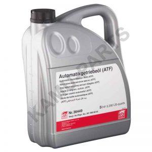 Febi Automatikgetriebeöl (ATF) Rot 36449 5 Liter