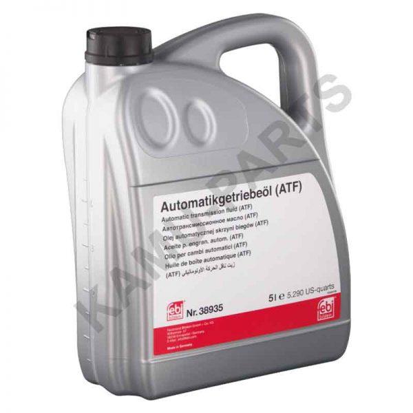 Automatikgetriebeöl ATF Febi 38935 (Gelb) 5 Liter