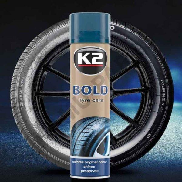 K2 BOLD 600 ML Reifenglanzmittel
