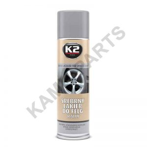 K2 Felgenlackspray Silber 500ml