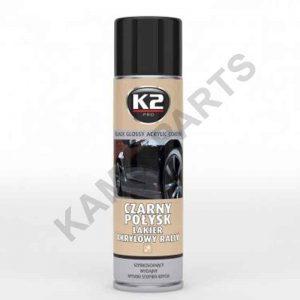 K2 Lackspray Schwarz Glänzend 500ml