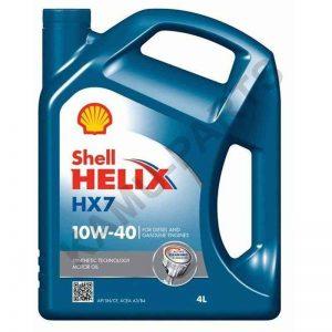 Shell Helix HX7 10W-40  4 Liter