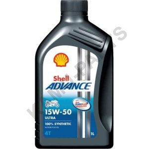 Shell Advance 4T Ultra 15W-5 Motoröl 1 Liter