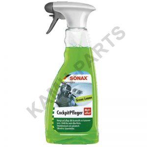 SONAX CockpitPfleger Matteffect Green Lemon 500ml + 50% Gratis
