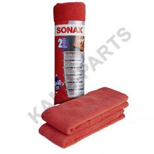 SONAX MicrofaserTücher Außen (2 Stück)
