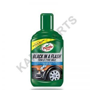 Turtle Wax Black in a Flash Kunststoff & Reifenwachs 300ml